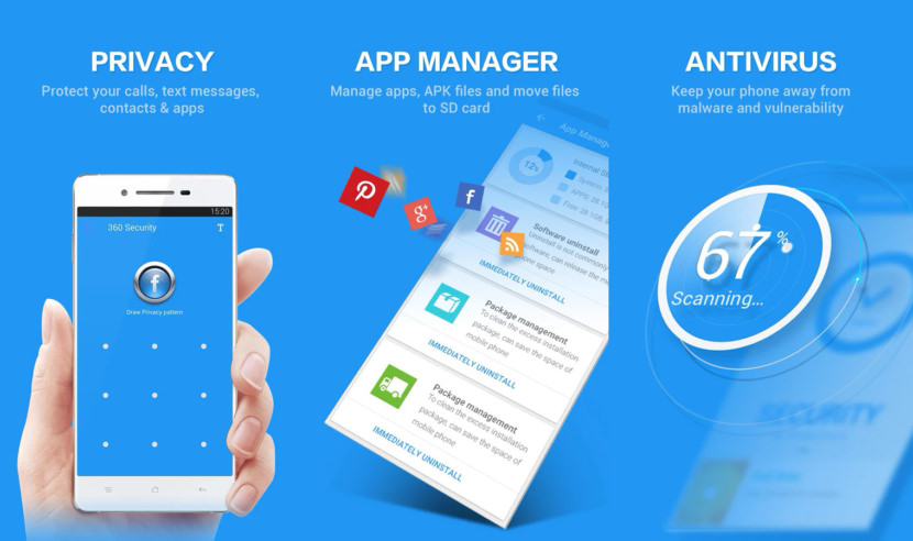 360 Security Free Android Antivirus - Stop Credit Card Theft And Safe Internet Banking