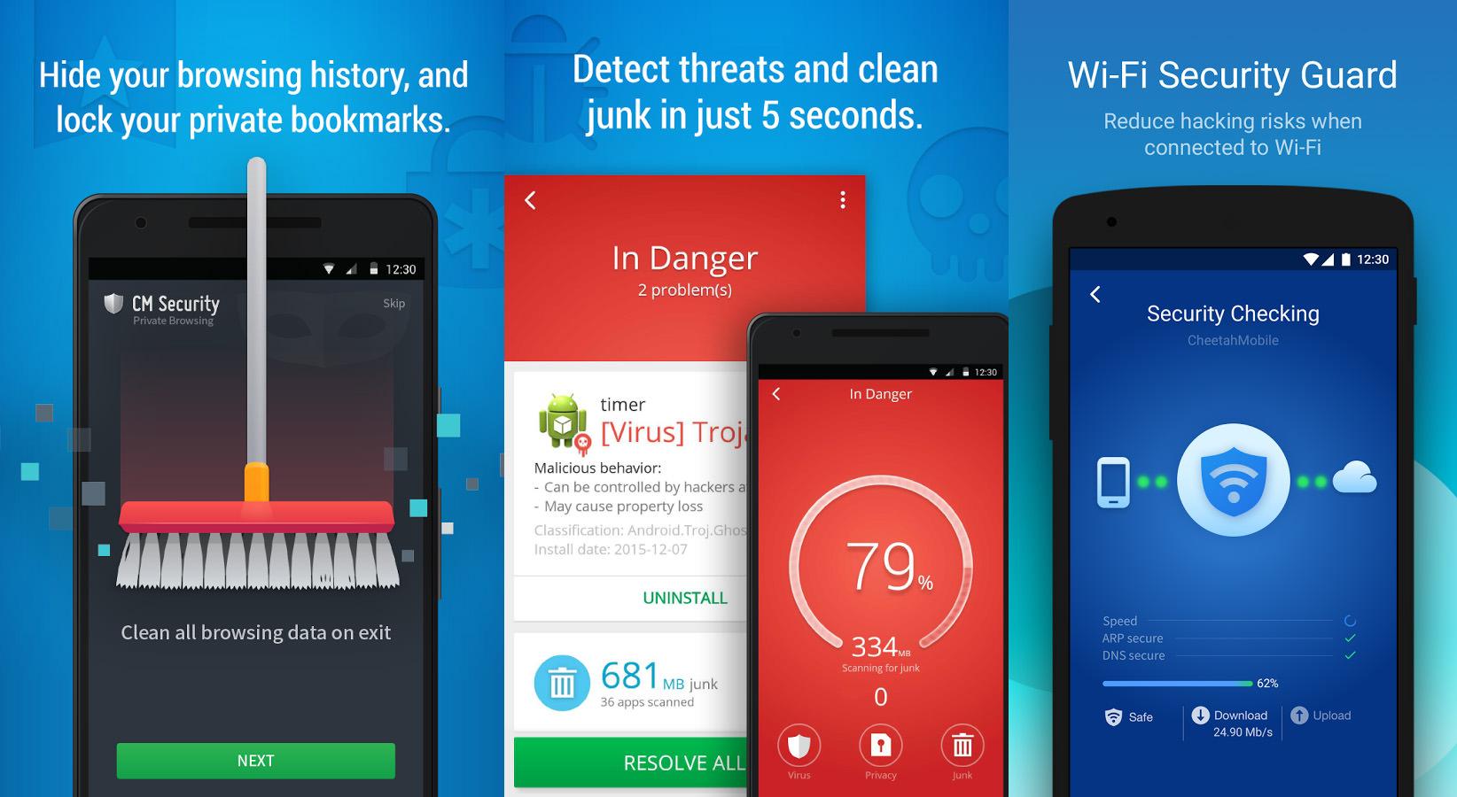 free antivirus android phone