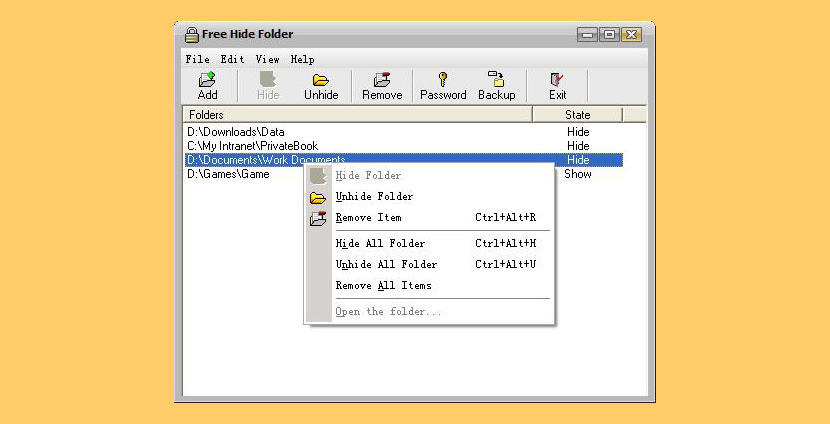hide folder ext _setup.exe