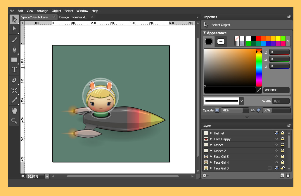 5 free adobe illustrator cc alternatives and vector Free graphic design software for windows