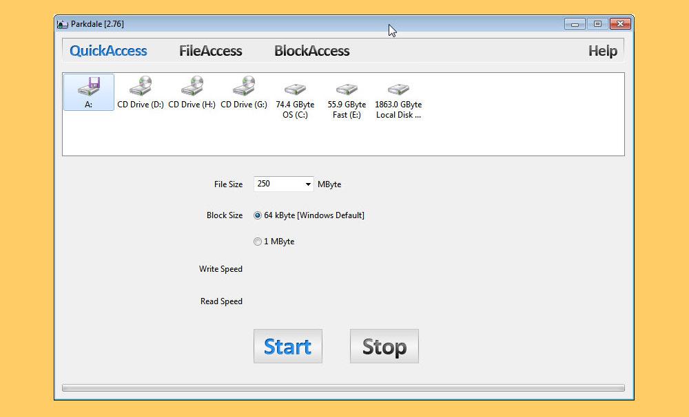 best free hard disk benchmark software