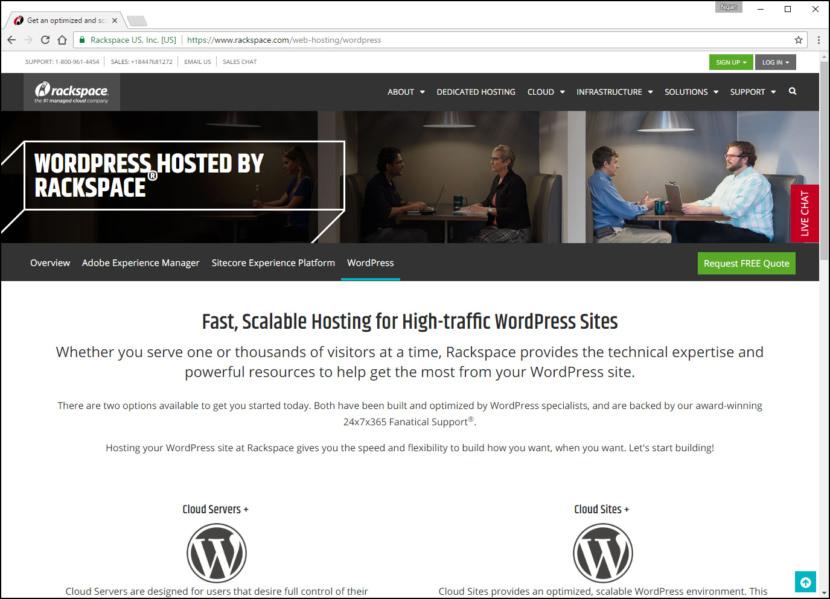 Rackspace WordPress Cloud Fastest WordPress Hosting With Varnish Cache, CDN & Daily Backup