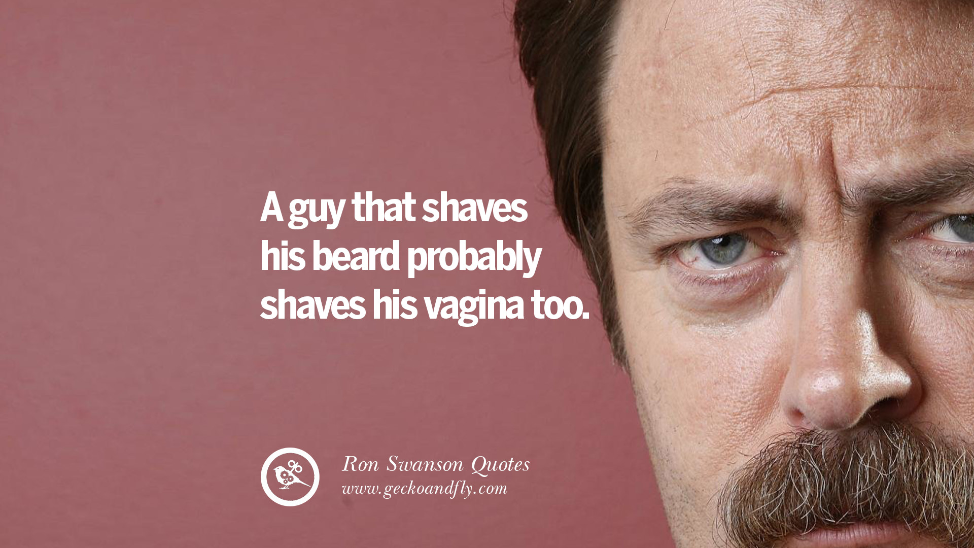 14 Funny Ron Swanson Quotes And Meme On Life  Ron Swanson Quotes Salad