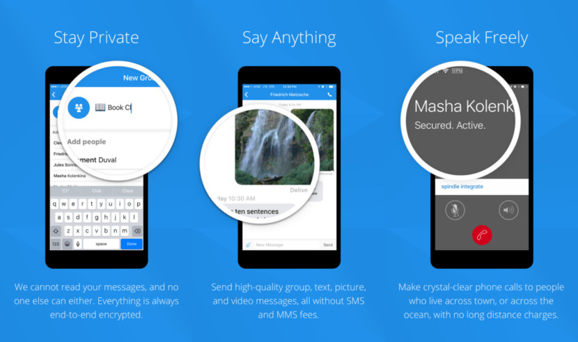 Signal Free Apps With Secure Encrypted Phone Calls With End-to-End Encryption