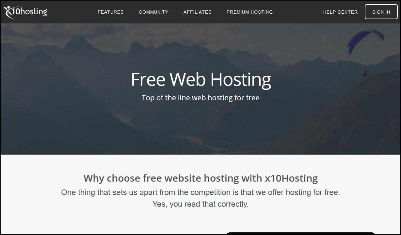 9 Free Hosting For WordPress [ Optional Domain Purchase ]