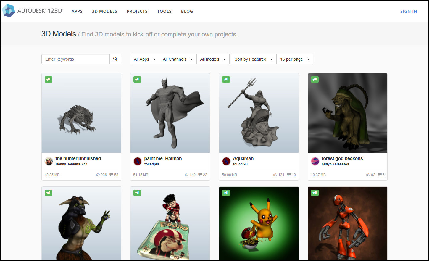 9 Sites For Downloading Free Rapid Prototyping Printing 3d Stl Models Files