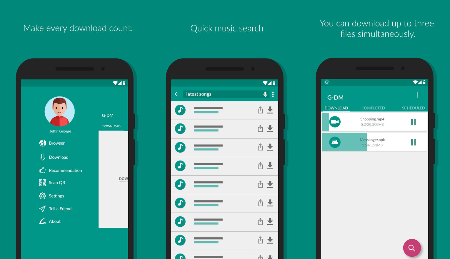 4 Free Download Manager For Google Android Smartphone