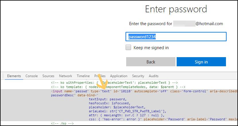 Unhide Asterisk *** Password