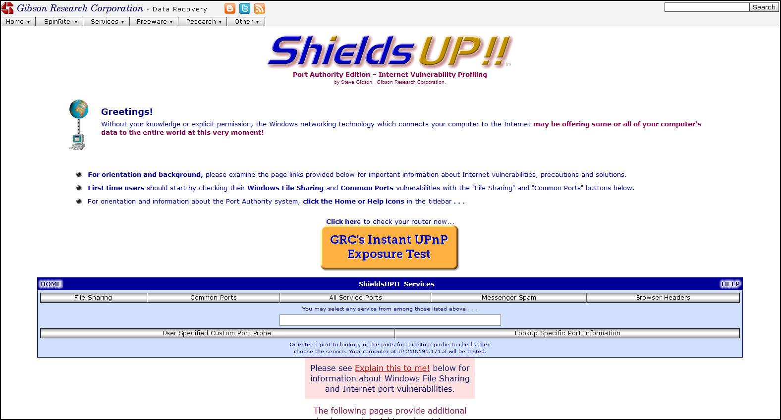 antivirus browser test