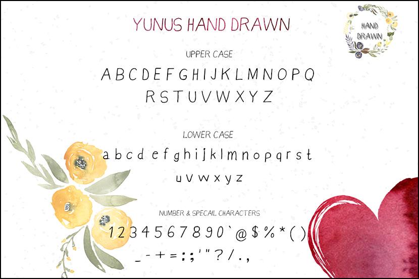 Yunus Handwriting