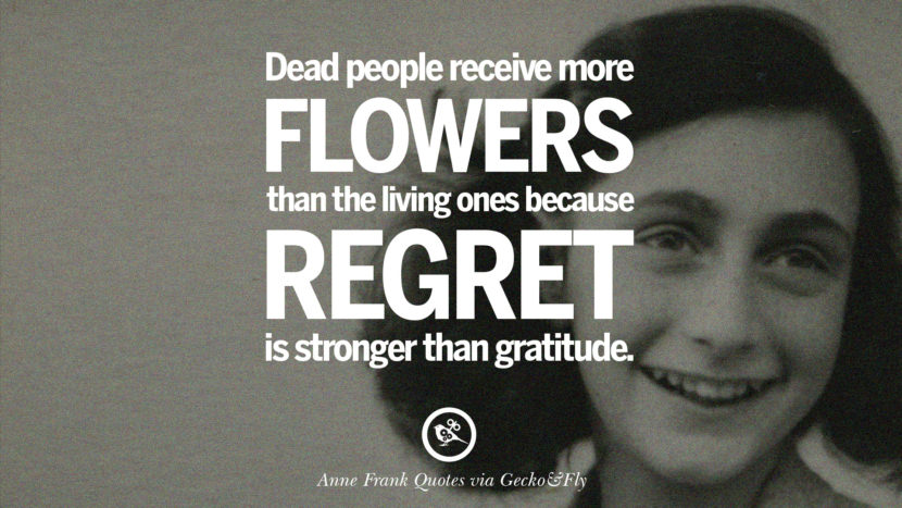 12 Quotes By Anne Frank On Death Love And Humanities