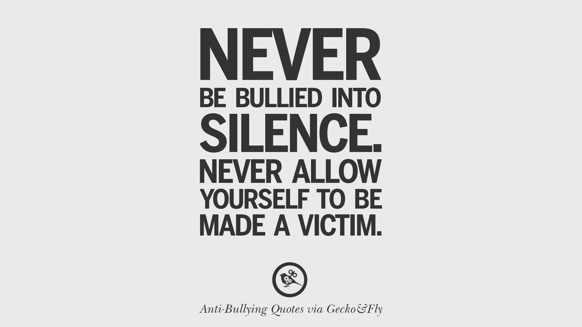 Victim Quotes 12 Quotes On Anti Cyber Bulling And Social Bullying Effects