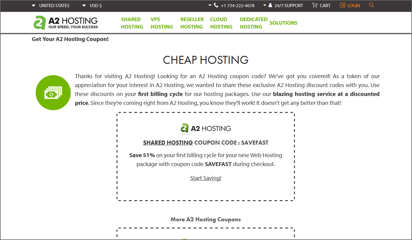 Hosting coupons crazy domains
