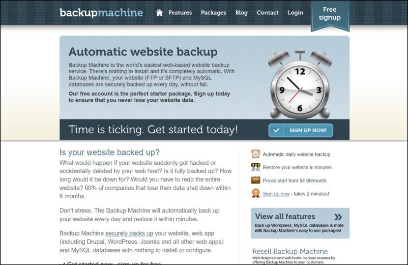 Backup Machine