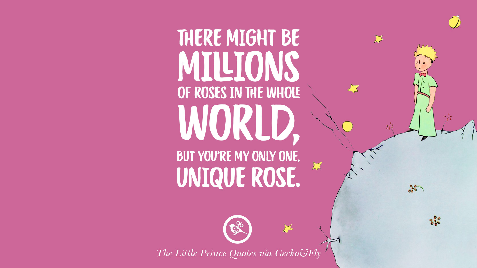 12 Quotes By The Little Prince On Life Lesson, True Love
