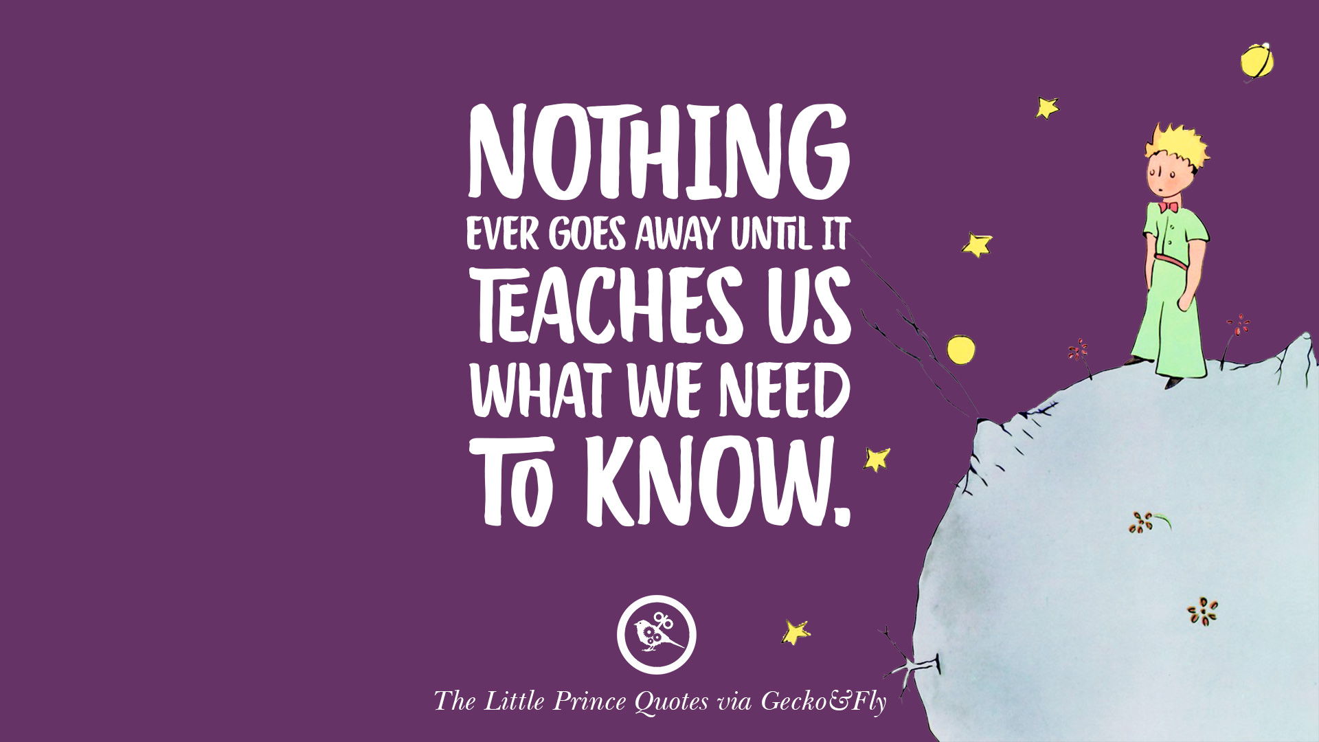 Purple Quotes 12 Quotesthe Little Prince On Life Lesson True Love And
