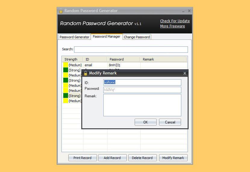 IObit Random Password Generator