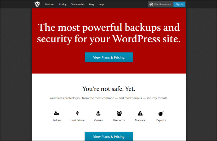 VaultPress [ By WordPress ]