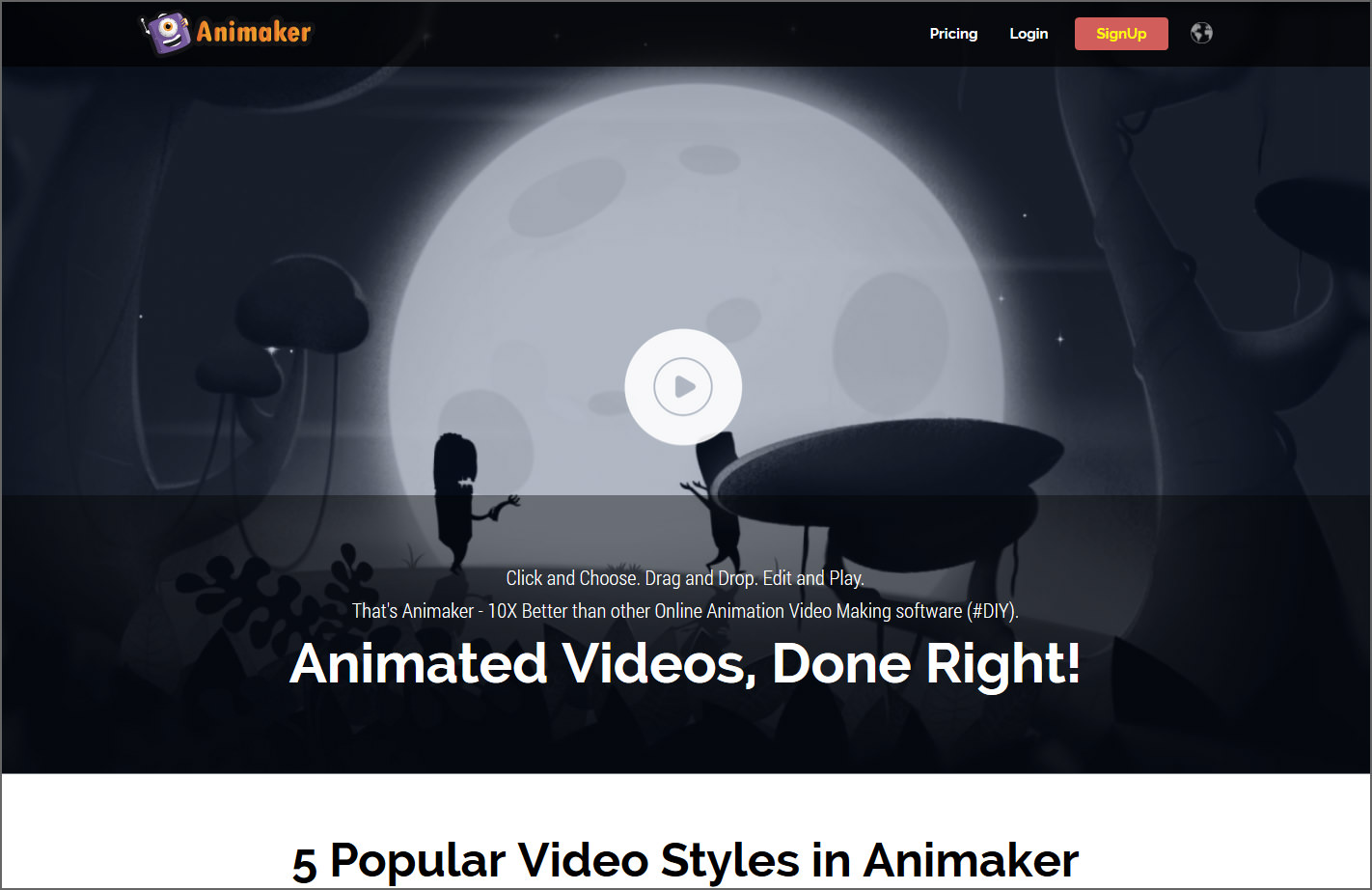 6 Free Animation Software - Create 2D Animated Video Presentation