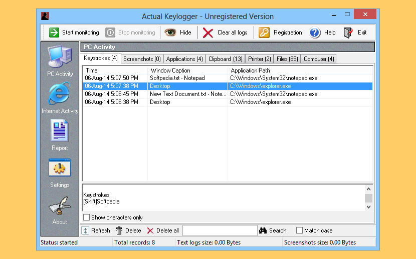 keylogger full indetectable espaol