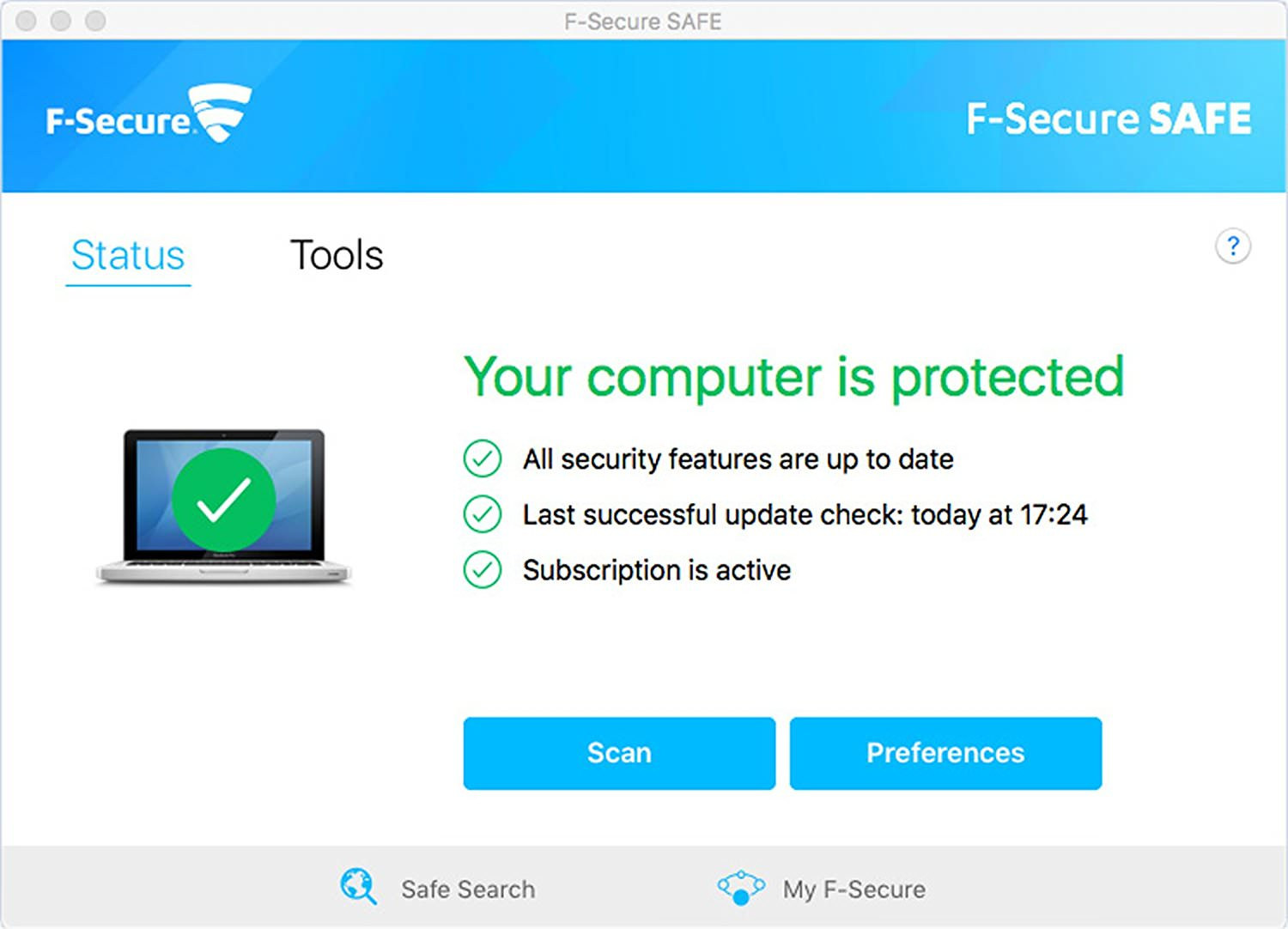 Free Internet Security >> F Secure Safe 1 Year Activation Free Internet Security For