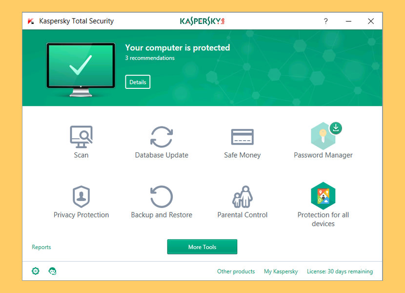 Download Kaspersky Total Security 30-Days Free