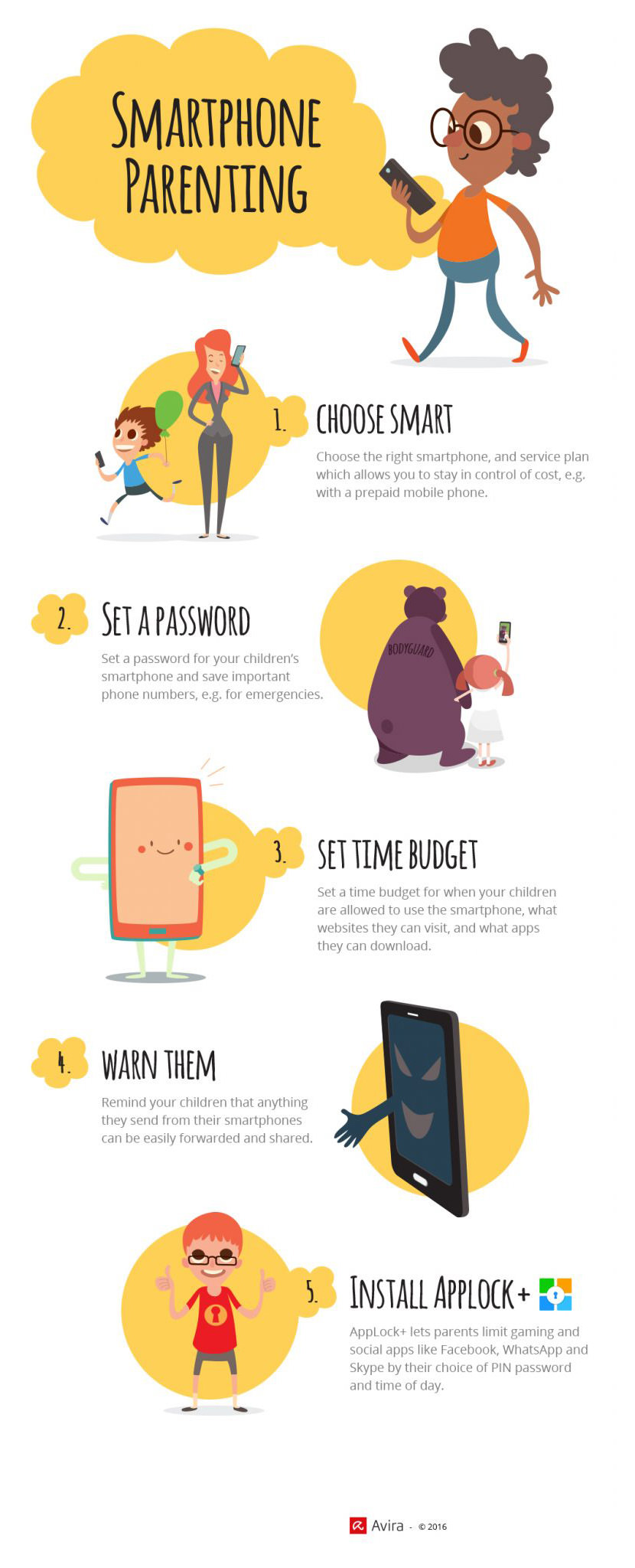 Tips And Tricks For Smartphone Parenting