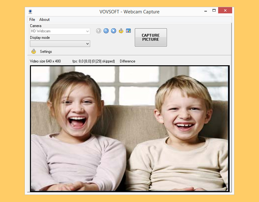 Webcam Capture