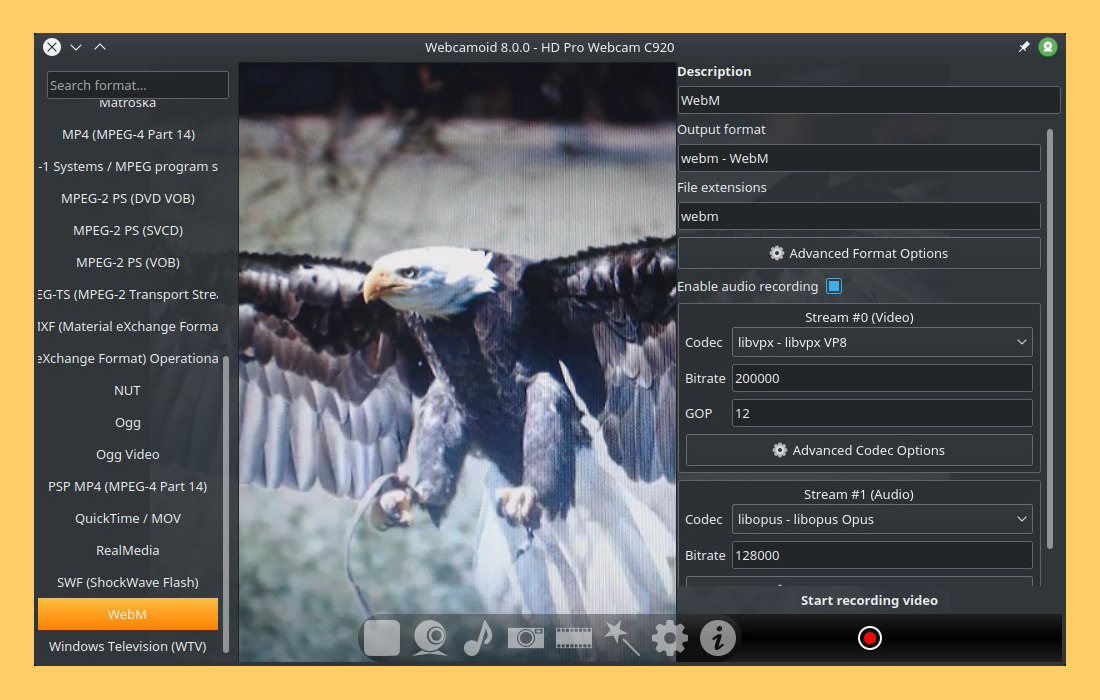 7 Free Advanced WebCam Software For Streaming And Recording