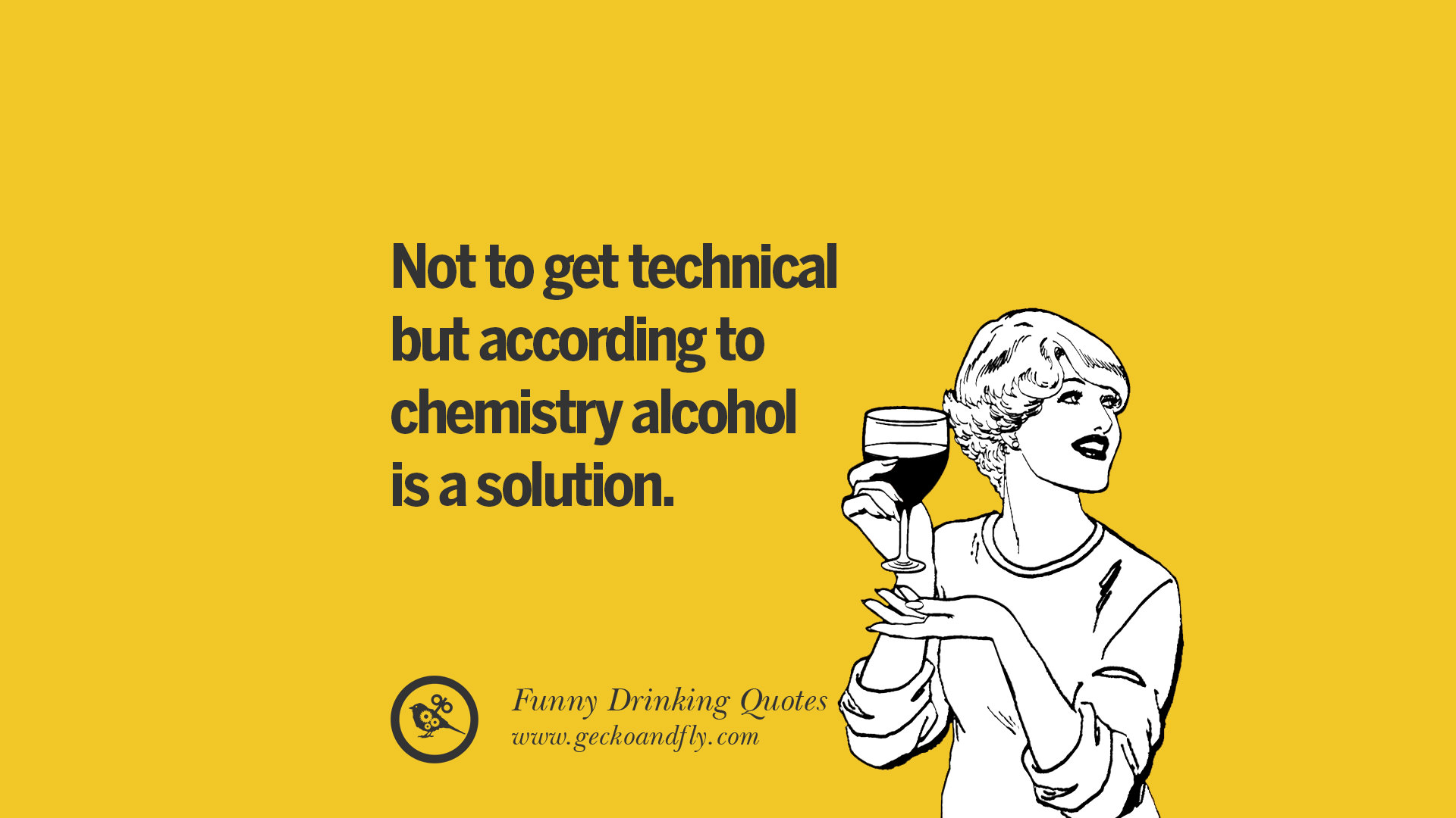 Not to get technical but according to chemistry alcohol is a solution.