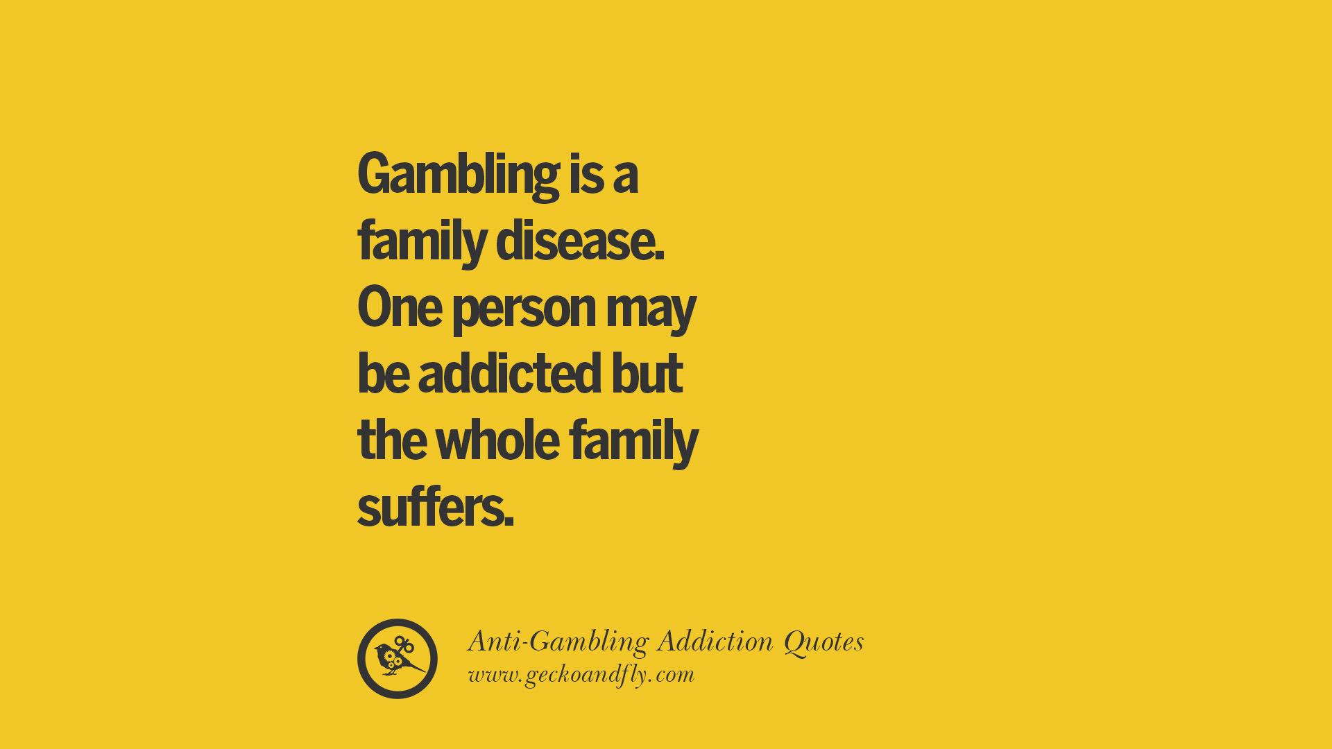Gambling Addiction Quotes