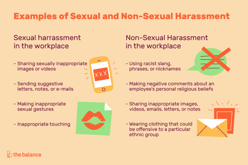 What is harassment and what is not?