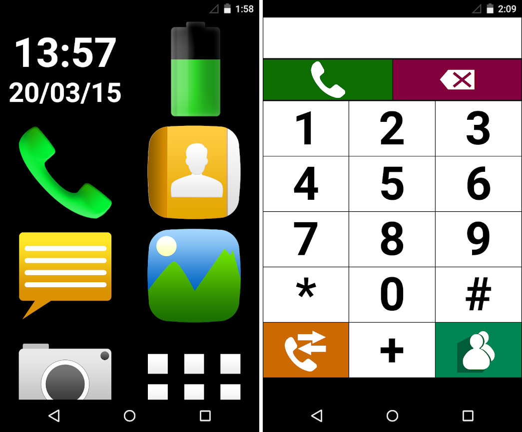 9 Senior Mode 'Themes' With Big Icons For Android Smartphone