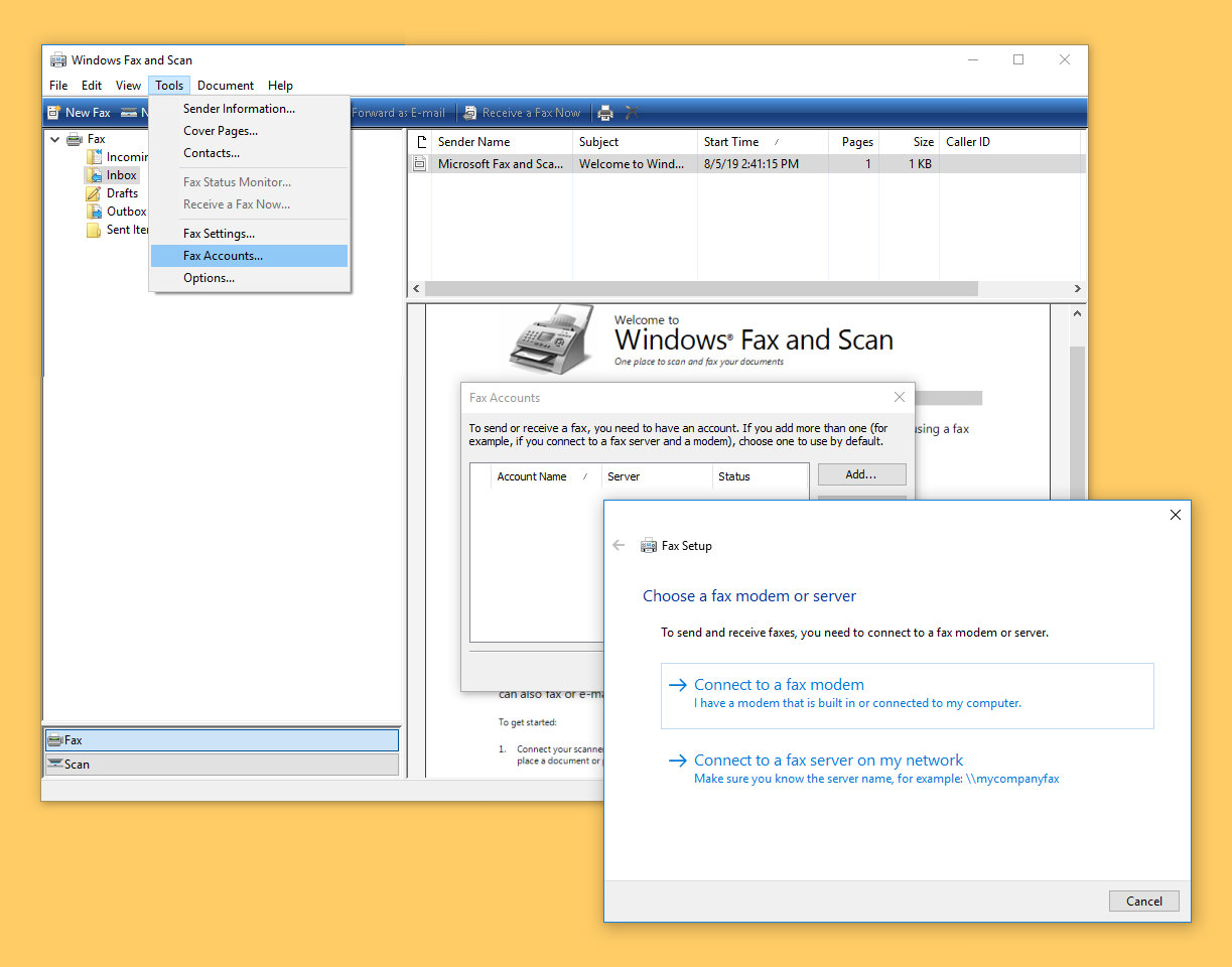 Microsoft Fax Software And 6 Sites To Send Receive Faxes For