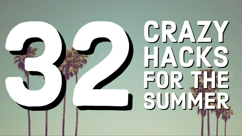 summer hack Los Angeles Free YouTube Thumbnail Art Templates