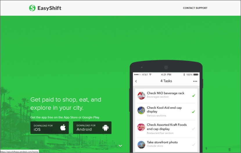 EasyShift Micro Task Jobs Sites - Get Paid To Do Short Tasks Online