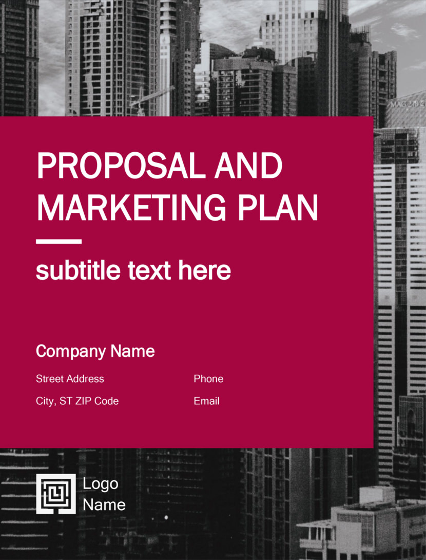 Free Business Plan Proposal Templates In Word Docx And PowerPoint