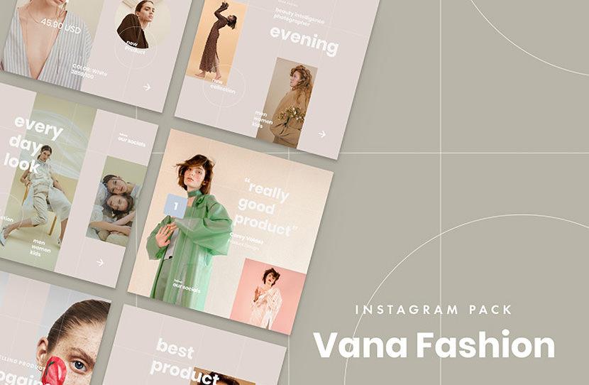 Vana Fashion Instagram Template