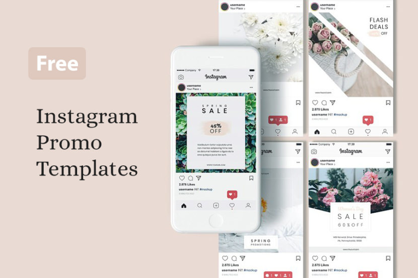 Classy Wedding Instagram Template