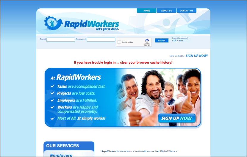 RapidWorkers Micro Task Jobs Sites - Get Paid To Do Short Tasks Online