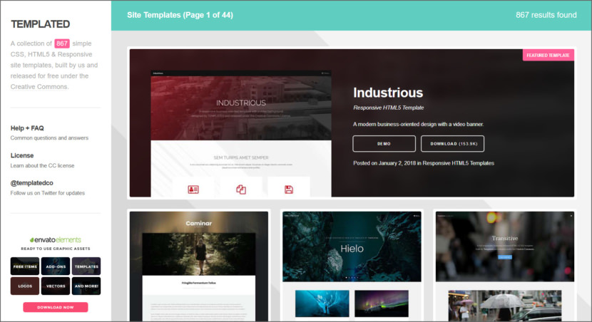 Templeted Free Professional HTML5 Responsive Templates