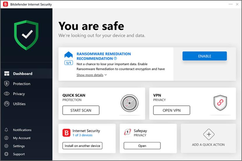 Download 90 Days Free Bitdefender Internet / Total Security 2020 [ Webcam Protection ]