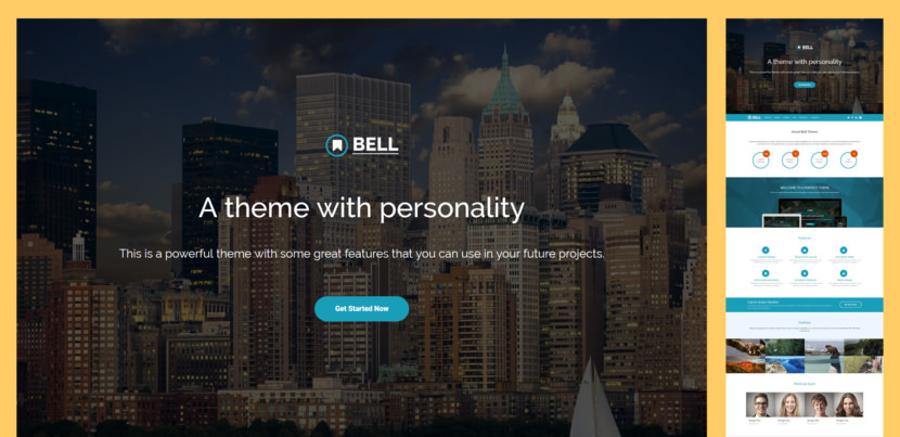 Bell is a single page Bootstrap 4 theme. Bell can be used for multipurpose website including Agency, Startup, Business, Factory, Real Estate, Construction, Finance, Consulting, Cleaning Service or any type of business website.