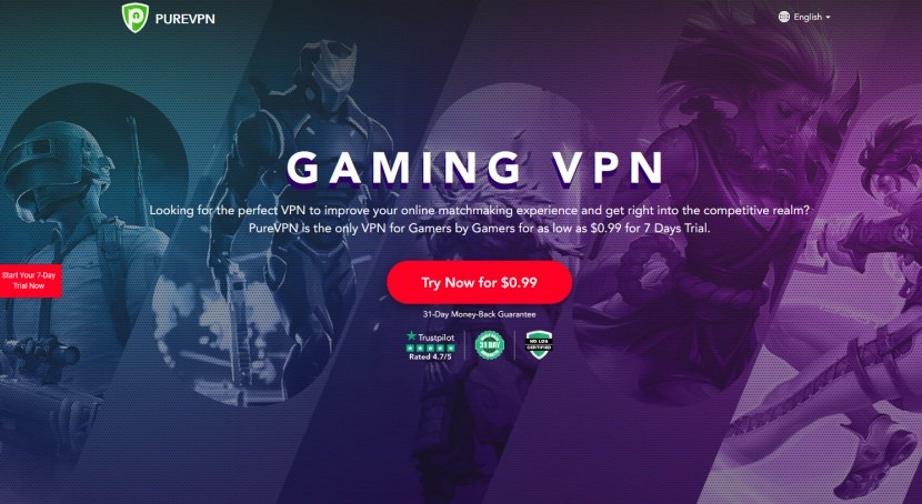 PureVPN Gaming VPN