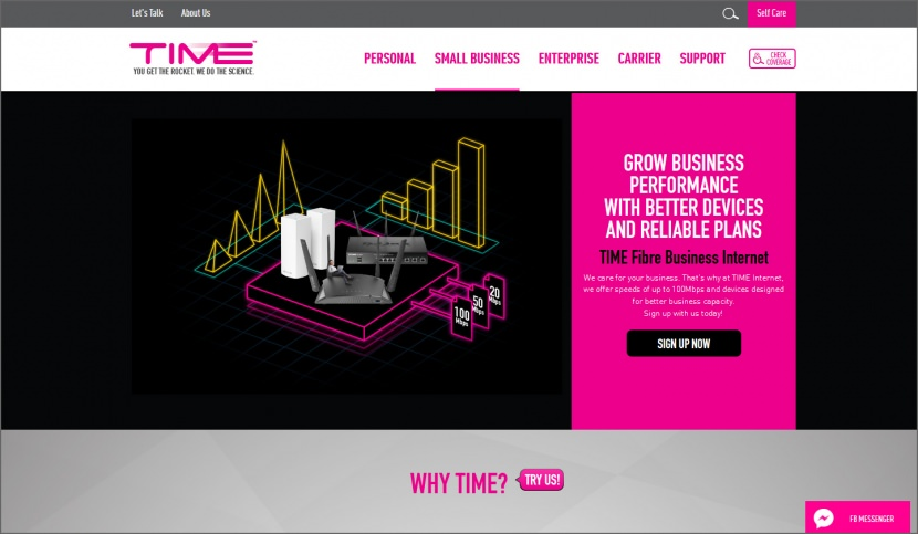 TIME Fibre Business Broadband